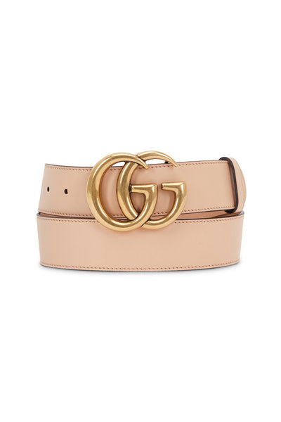 Gucci - New GG Sable Leather Belt