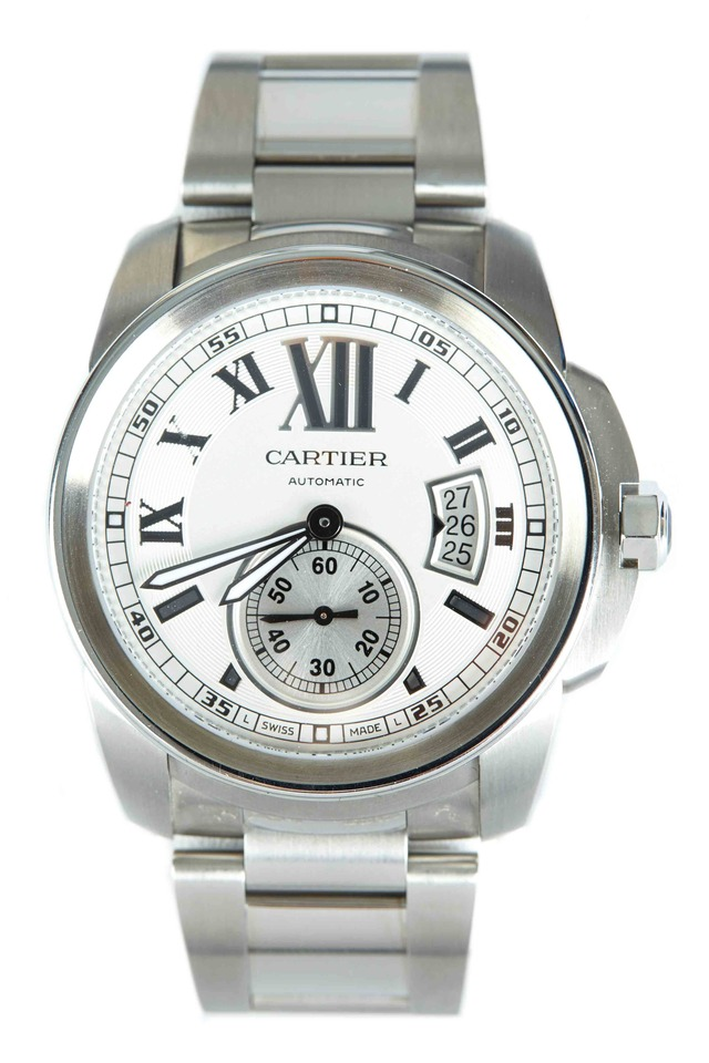 Calibre Stainless Steel Watch