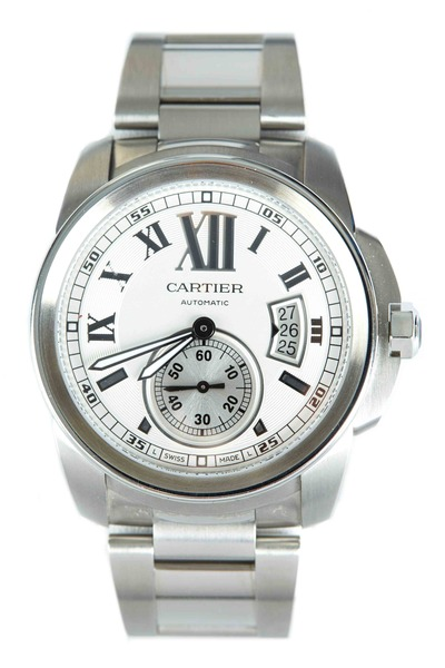 Cartier - Calibre Stainless Steel Watch
