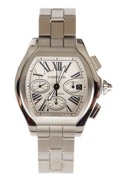 Cartier - Roadster Chronograph Stainless Steel Watch