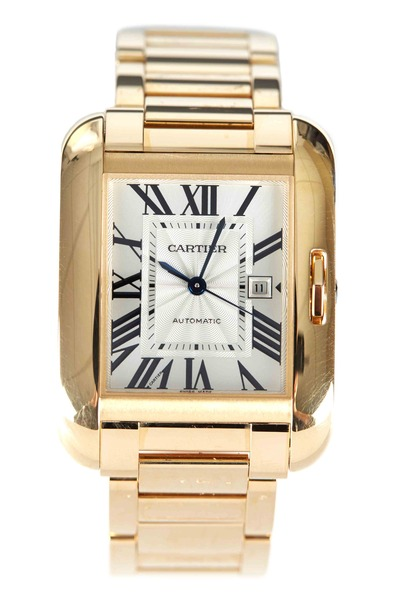 Cartier - Tank Anglaise Yellow Gold Watch, Medium