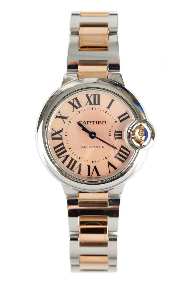 Ballon Bleu Pink Gold & Steel Watch