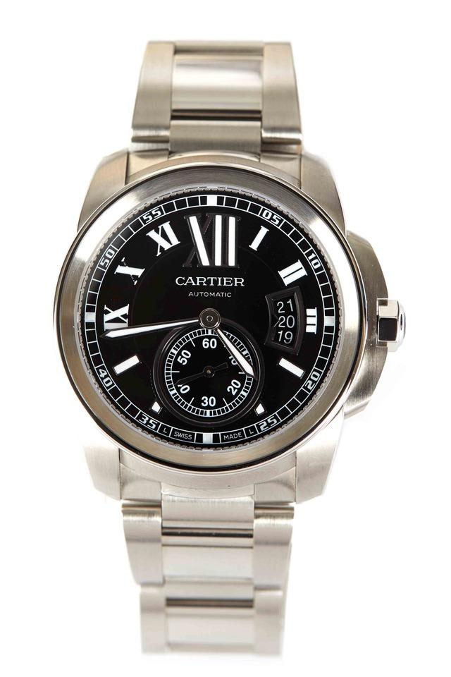 Calibre Steel Watch