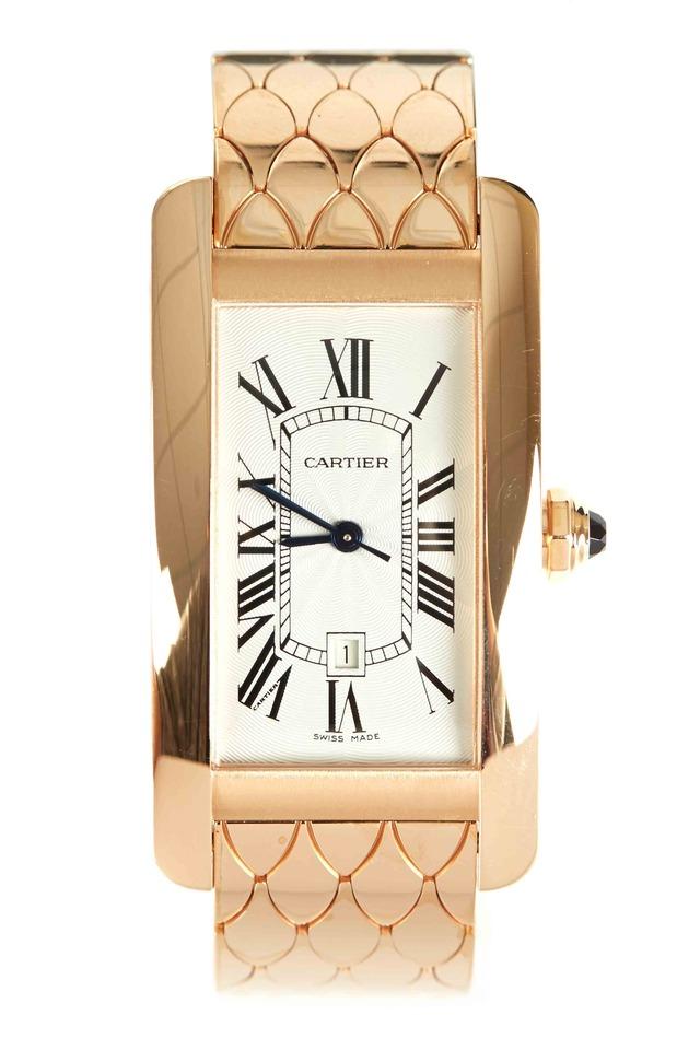 Tank Américaine Pink Gold Watch