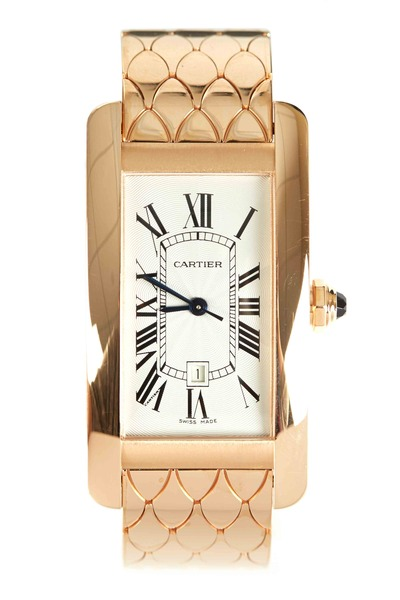 Cartier - Tank Américaine Pink Gold Watch