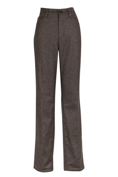 Bogner - Rodeo Brown Alpaca & Wool Blend Pants