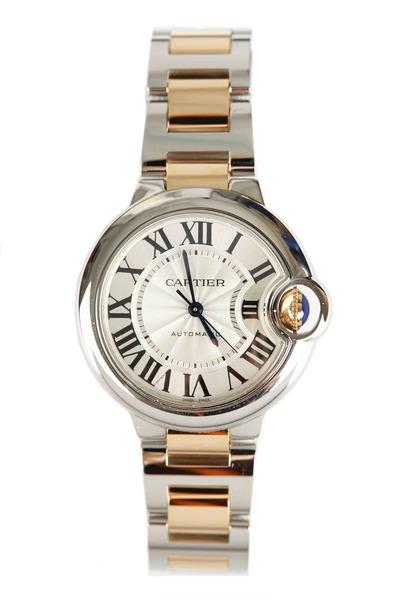 Cartier - Ballon Bleu Yellow Gold & Stainless Steel Watch