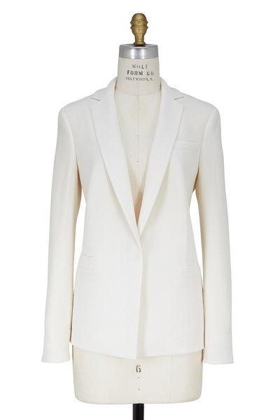 Akris - Off White Wool Blazer