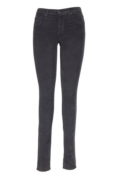 AG - The Legging Dark Gray Corduroy Super Skinny Jeans