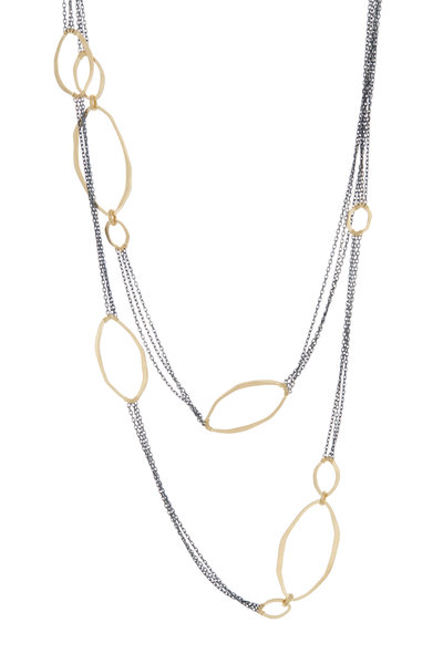 Dana Kellin - 14K Yellow Gold & Sterling Silver Necklace