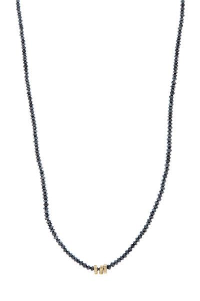 Dana Kellin - 14K Yellow Gold Black Diamond Necklace