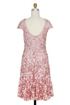 Theia - Dusty Rose Petal & Beaded Dress