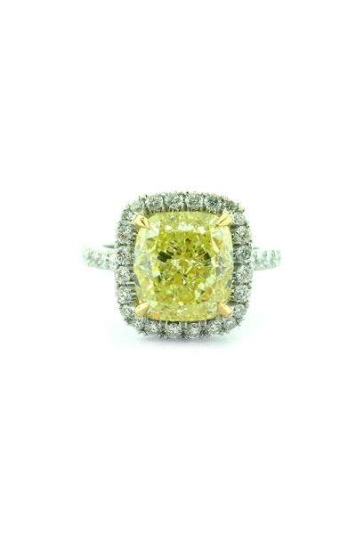Louis Newman - Fancy Loose Stone Ring