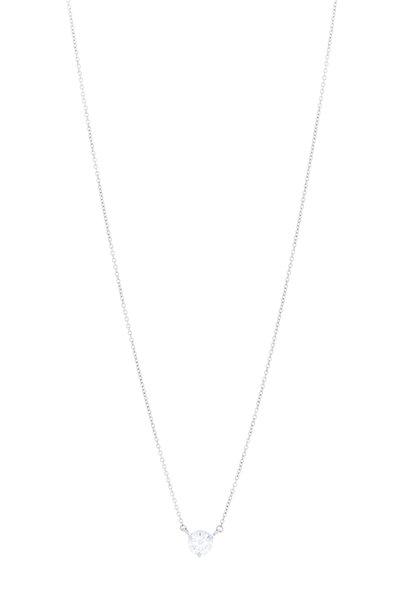 Kwiat - Platinum Diamond Pendant Necklace