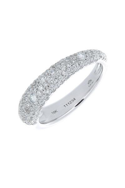 Kwiat - 18K White Gold Diamond Ring