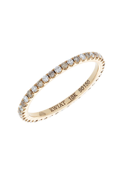 Kwiat - 18K Rose Gold Diamond Stackable Band