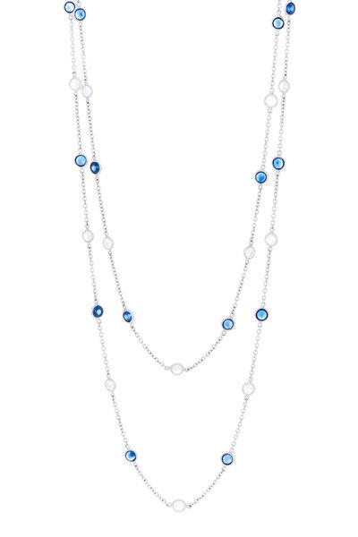 Oscar Heyman - Platinum Sapphire & Diamond Chain