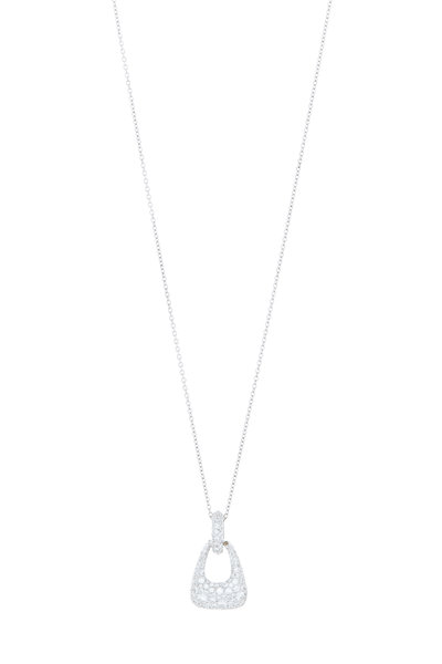 Kwiat - 18K White Gold Diamond Madison Ave Necklace