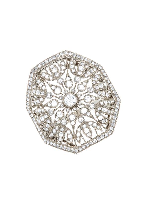 Kwiat 18K White Gold Diamond Ring