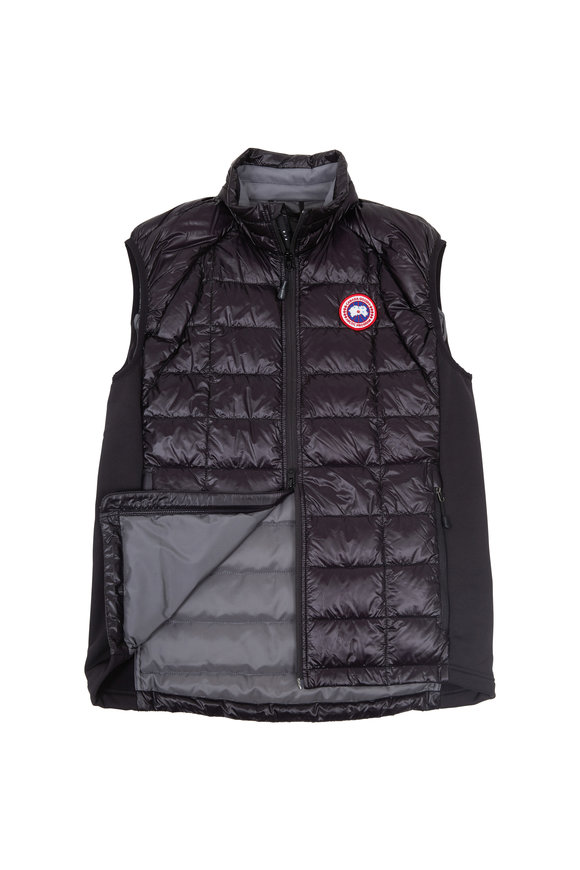 Canada Goose Hybridge Black Quilted Down Vest