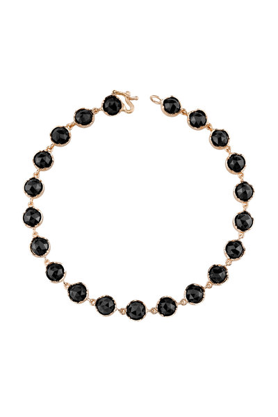Irene Neuwirth - Rose Gold Black Onyx Bracelet