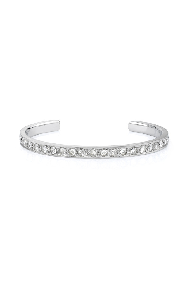 White Gold Diamond Cuff