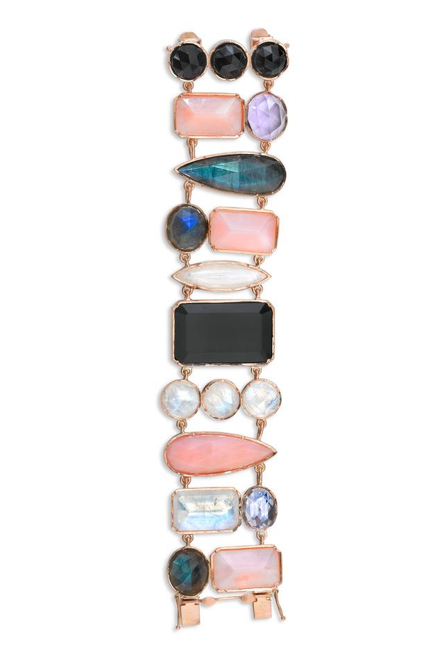 Mixed Shape Gemstone Bracelet