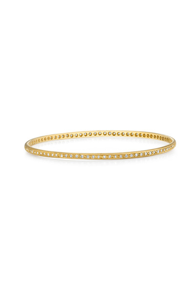 Irene Neuwirth - Gold Diamond Bangle