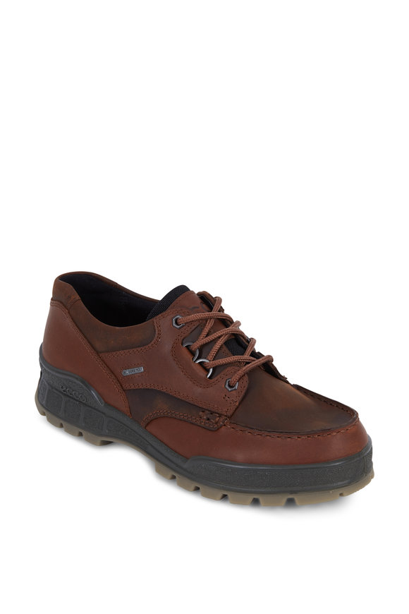Ecco Track II Brown Leather Waterproof Performance Shoe