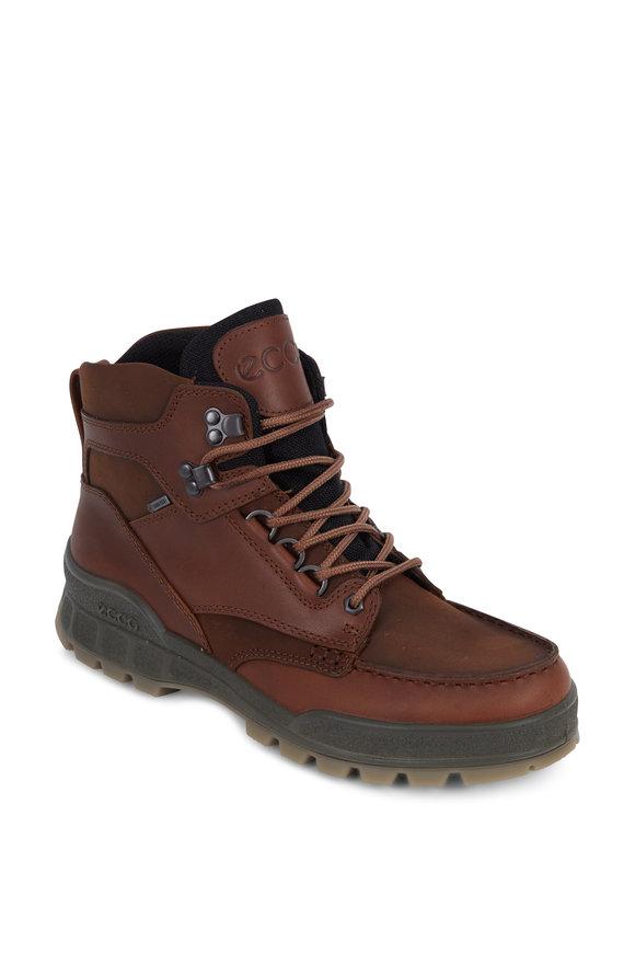 Ecco Track II Brown Leather Waterproof Performance Boot