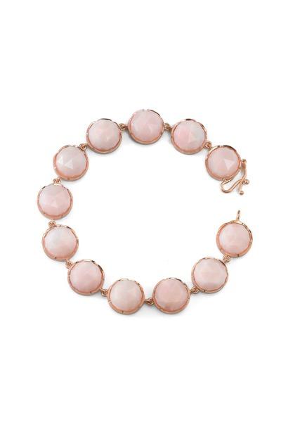 Irene Neuwirth - Rose Gold Pink Opal Bracelet