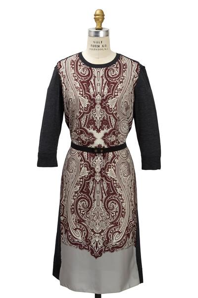 Lanvin - Grey Wool Dress