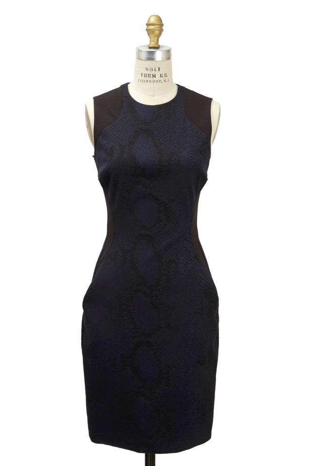 Indigo Python Dress
