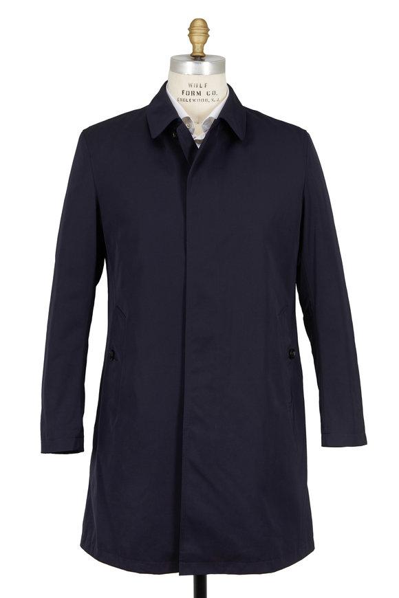 Sanyo Fashion House Covey Midnight Blue Raincoat