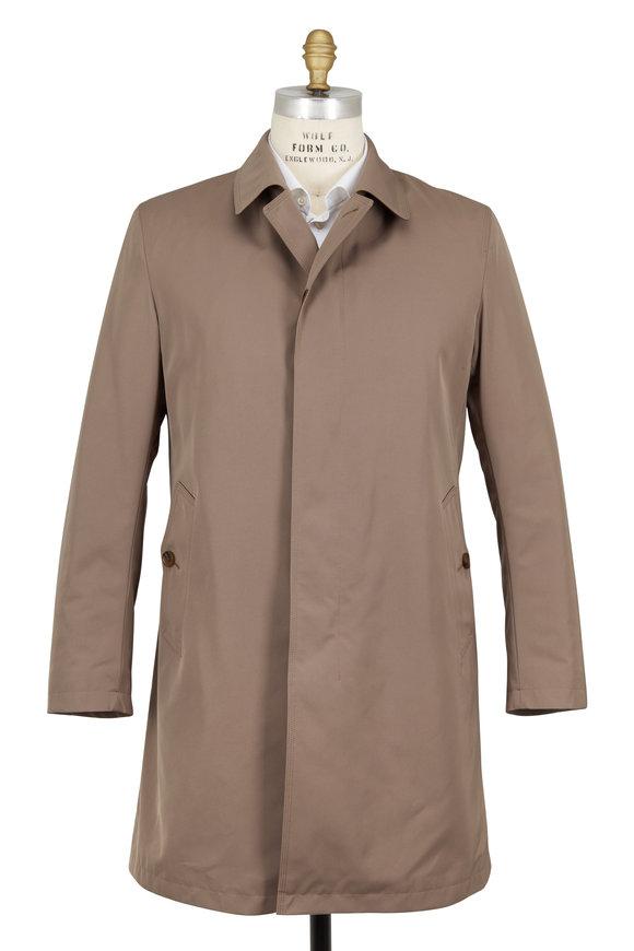 Sanyo Fashion House Covey Dark Taupe Raincoat