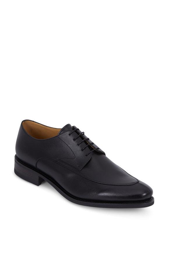 Paraboot Chelsea Black Leather Derby Shoe
