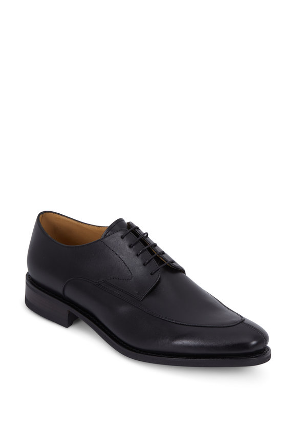 Paraboot Chelsea Black Leather Derby Shoe
