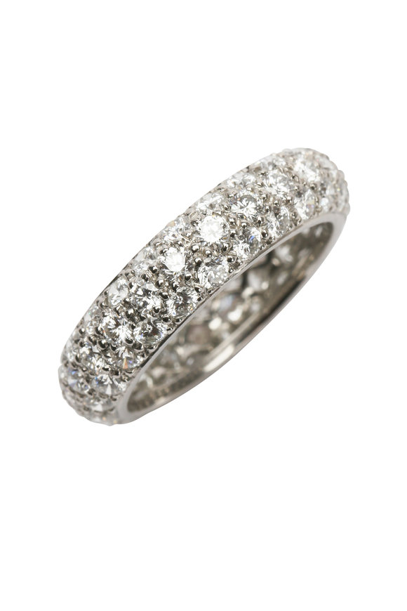 Oscar Heyman Platinum Diamond Ring
