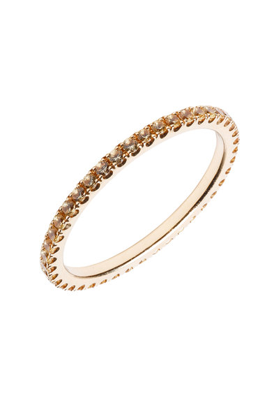 Kwiat - 18K Yellow Gold Yellow Sapphire Stackable Band