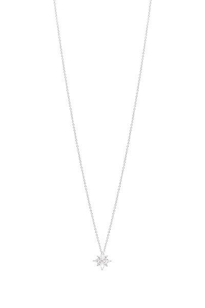 Kwiat - Platinum Diamond Star Necklace