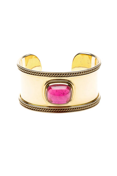 Temple St. Clair - Pink Granulated Cuff