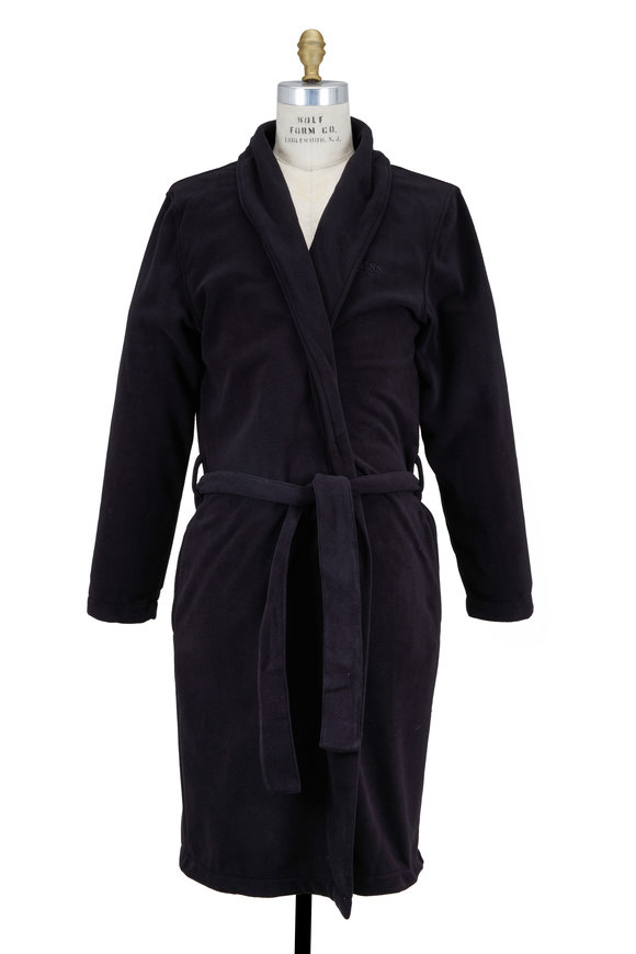 Boss Hugo Boss Black Micro-Fleece Robe