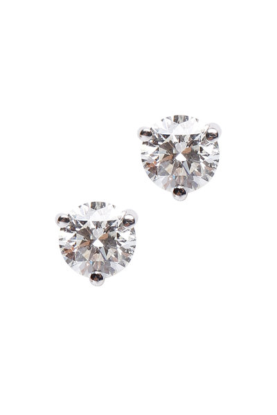 Kwiat - Platinum Diamond Studs