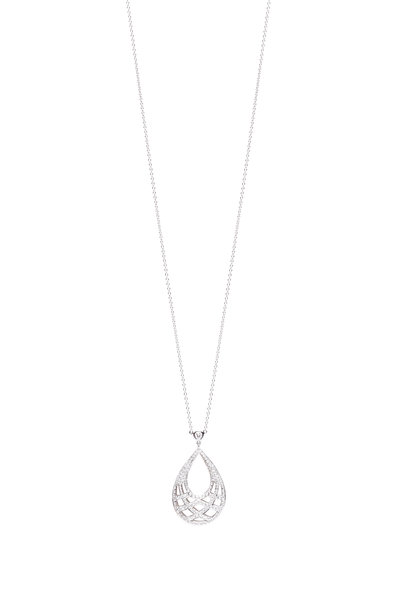 Kwiat - 18K White Gold Diamond Necklace