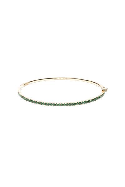 Kwiat - 18K Yellow Gold Emerald Stackable Bracelet