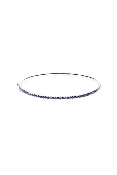 Kwiat - 18K White Gold Sapphire Stackable Bracelet