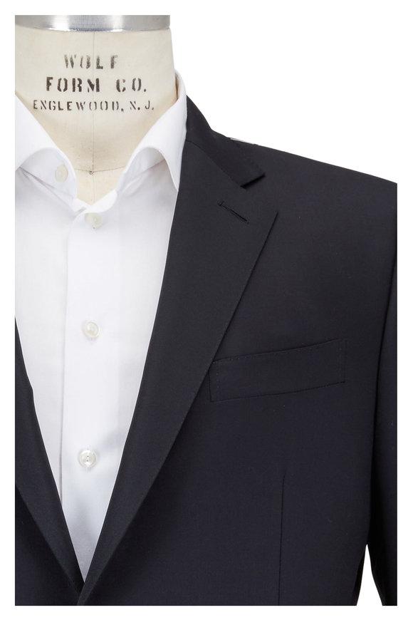 Ermenegildo Zegna Black Micronsphere Wool Tuxedo