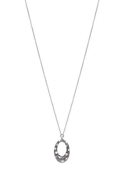 Kwiat - Cobblestone Pendant Circle Necklace