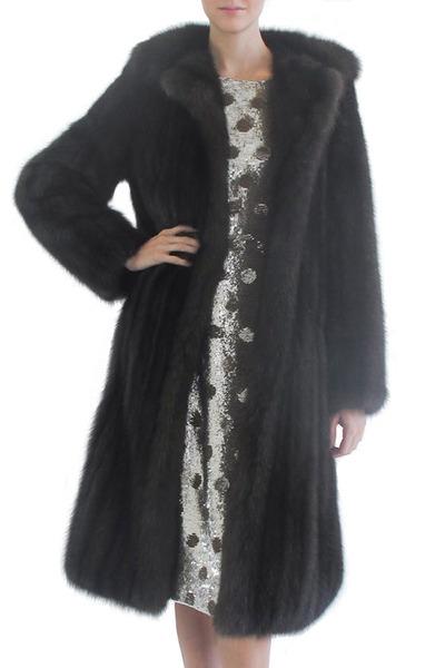 Oscar de la Renta Furs - Natural Russian Barguzine Sable Jacket