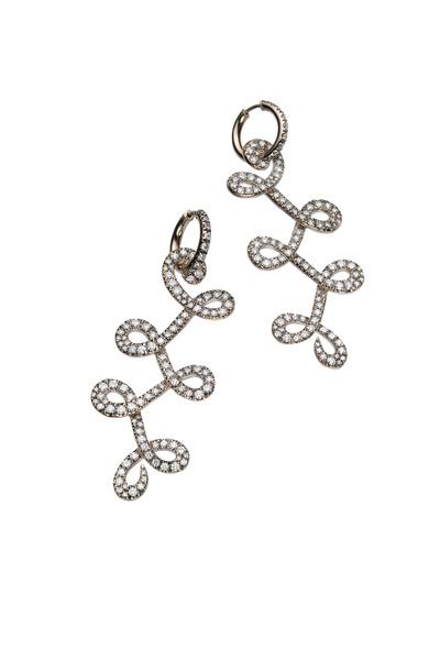 H. Stern - Noble Gold Diamond Celtic Dunes Earrings